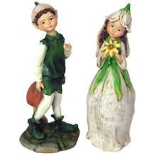 Efektowne, niewielkich rozmiarów figurki przedstawiająceelfy to przepiękne elementy dekoracyjne. Figurki doskonale wkomponują się w nowoczesny...