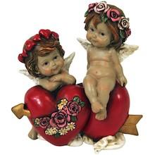 Efektowne, niewielkich rozmiarów figurki przedstawiająceamory to przepiękne elementy dekoracyjne. Figurki doskonale wkomponują się w nowoczesny...