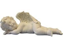 Efektowne,białe figurki przedstawiające aniołki to przepiękne elementy dekoracyjne. Figurki doskonale wkomponują się w nowoczesny wystrój...