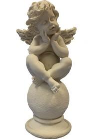 Efektowne, białe figurki przedstawiające aniołki to przepiękne elementy dekoracyjne. Figurki doskonale wkomponują się w nowoczesny wystrój...