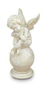 Piękne i efektowne figurki przedstawiające Aniołki to elementy dekoracyjne, które idealnie wkomponują się we współczesne wnętrza. Figurki wykonano z...