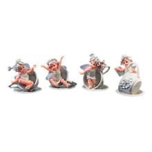Efektowne, niewielkich rozmiarów figurki przedstawiającedziewczynki ze skrzydełkamito przepiękne elementy dekoracyjne. Figurki doskonale...