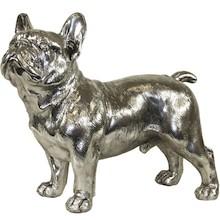 Miłośnicy czworonogów nie przejdą obok tej figurki obojętnie. Pięknie wykonana, chromowana postać psa to urokliwy i charakterystyczny element...