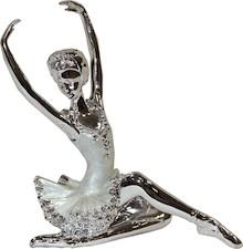 Kolekcja figurek przedstawiających baletnice. Postacie zaprezentowano w różnych pozach, zarówno tanecznych jak i siedzących; w zależności od modelu...