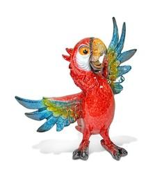 Kolorowe papugi to pełne uroku i wdzięku figurki. Idealne do salonu czy gabinetu. Dzięki dużej precyzji wykonania prezentują się bardzo naturalnie i...