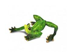 Figurka przedstawiająca żabkę z wygiętym ciałem.  Kolekcja zielonych, ceramicznych, pięknie wykonanychfigurek żab. Różne rozmiary i...