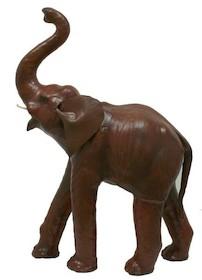 Słoń Ze Skóry Brązowy
