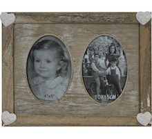 Drewniana ramka z miejscem na dwa zdjęcia sprawdzi się w bardzo wielu wnętrzach. Będzie znakomitym rozwiązaniem do salonu, sypialni, jak i pokoju...