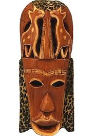 Drewniane maski w formie płaskorzeźb to idealne elementy wystroju wnętrz. Wykonane z różnych, dekoracyjnych gatunków drewna będą pięknie...