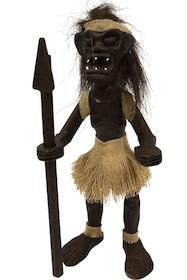 Drewniana figurka przedstawiająca prymitywnego człowieka dostępna jest w kilku wariantach. To ciekawy i efektowny przedmiot, który może się świetnie...