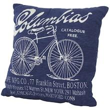 Bardzo stylowa poduszka dekoracyjna z napisem Columbias dostępna jest w wielu wariantach kolorystycznych, dzięki czemu każdy znajdzie coś dla siebie. To...