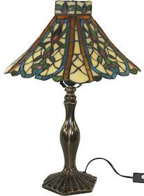 Piękna lampa witrażowa to doskonałe rozwiązanie do wnętrz klasycznie i elegancko urządzonych. Świetnie sprawdzi się w każdym salonie, szykownym...