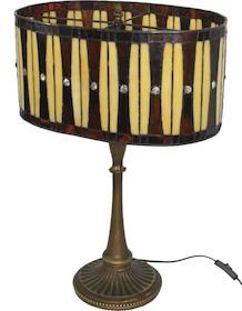Niebywale elegancka lampa witrażowa doda każdej aranżacji mnóstwo klasy i szyku. To produkt efektowny, który usatysfakcjonuje nawet bardzo wybredne...