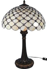 Bardzo stylowa lampa witrażowa o prostej, subtelnej kolorystyce sprawdzi się w wielu wnętrzach. Może być doskonałym rozwiązaniem do każdego salonu czy...