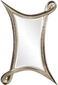 Niezwykle oryginalne lustro w niebanalnym kształcie będzie wyjątkową ozdobą każdego wnętrza. Sprawdzi się w aranżacjach równie pomysłowo i stylowo...