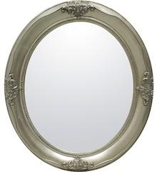 Duże owalne lustro w stylowej ramie to efektowny dodatek do każdego wnętrza. Będzie wyjątkową ozdobą każdej sypialni, salonu, jak i przedpokoju....