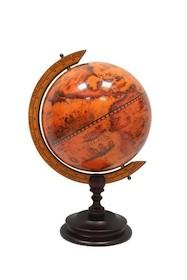 Globus w stylu retro to świetny element dekoracyjny. Przedmiot wprowadza klimat podróżniczy, a dzięki swojej stylizacji przenosi użytkownika i inne...