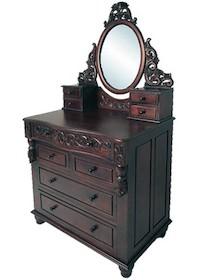 Imponująca, niebywale stylowa komoda z lustrem to jedyny w swoim rodzaju mebel, który usatysfakcjonuje nawet bardzo wybredne osoby o wyrafinowanych gustach....