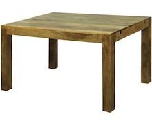 Solidny i prosty stół drewniany. Cztery nogi i gruby blat to dość klasyczne rozwiązanie, choć ponadczasowe. Ten stół charakteryzuje piękny i...