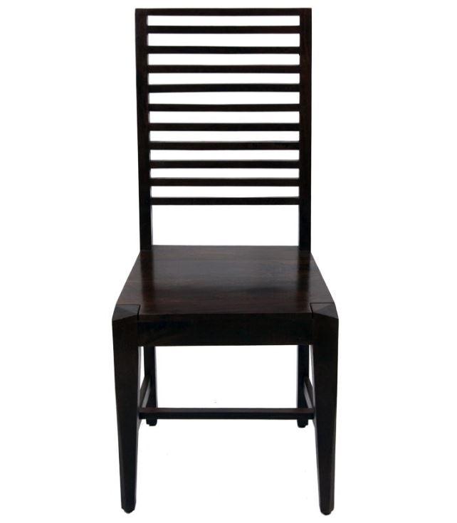 Krzesło drewniane ciemne, M3 - Meble