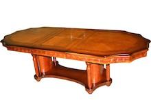 Niebywale efektowny stół na pewno sprawi, że każda aranżacja nabierze mnóstwo niepowtarzalnego, wyszukanego charakteru. To mebel jedyny w swoim rodzaju,...