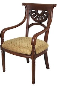 Stylowe krzesło o klasycznej stylistyce przypadnie do gustu nawet bardzo wymagającym osobom. To efektowny mebel, który świetnie sprawdzi się w każdej...