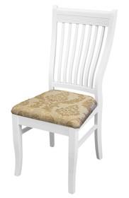 Stylowe, białe krzesło to świetne rozwiązanie do każdej eleganckiej jadalni. Prezentuje się niezwykle gustownie, rozjaśni każde wnętrze i doda mu...