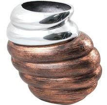 Oryginalny wazon w bardzo ciekawym kształcie to świetne rozwiązanie do wszystkich stylowych wnętrz. Świetnie sprawdzi się w aranżacjach równie...