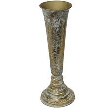 Niebanalny, metalowy wazon to świetne rozwiązanie do wszystkich stylowych wnętrz. Stanie się niepowtarzalną ozdobą w każdym salonie, sypialni czy...