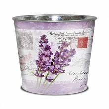 Blaszane osłonki do kwiatów, roślin doniczkowych i ziół. Kolekcja składa się z prostokątnych i okrągłych doniczek oraz podwójnych wiaderek....
