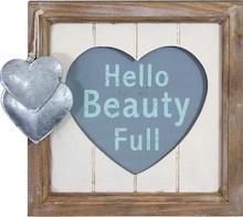 Bardzo stylowe drewniane ramki ozdobione metalowymi serduszkami będą się świetnie prezentowały we wszystkich romantycznych i gustownych wnętrzach. Mogą...