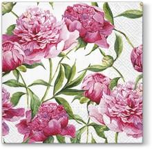 Serwetki Tat Pink Peonies będą świetnym rozwiązaniem do każdej kuchni lub przytulnej jadalni. Delikatne kwiaty w różowym kolorze na pewno spodobają...
