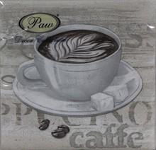 Stylowe serwetki Coffee Time będą bardzo gustownie wyglądały w każdej kuchni lub jadalni. Sprawdzą się w trakcie towarzyskich spotkań przy kawie i...