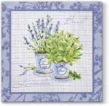 Stylowe serwetki Basil&Lavender będą się świetnie prezentowały w każdej kuchni lub jadalni. Piękna kolorystyka oraz bardzo wyraziste wzornictwo...