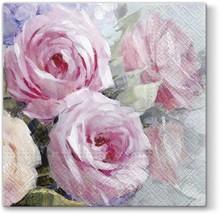 Serwetki Julia z kwiatowym wzorem będą wyśmienitą dekoracją każdego kuchennego lub jadalnianego stołu. Subtelna kolorystyka sprawi, że każda...