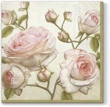 Serwetka Beauty Roses spodoba się wszystkim miłośnikom kwiecistych, tak romantycznych i delikatnych wzorów. Na pewno skomponuje się ze wszystkimi równie...