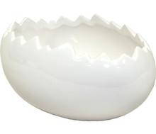 Designerska osłonka na rośliny to niewątpliwie przedmiot wyszukany i nietuzinkowy. Kształt jaja, a dokładnie pękniętej skorupki, z której mogą...