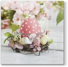 Serwetki Romantic Easter świetnie sprawdzą się na wielkanocnym stole. Są efektowne, stylowe i na pewno spodobają się wielu osobom. Staną się...