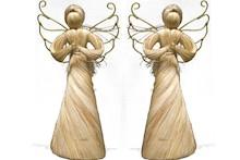 Efektowne, wykonane z włókien figurki przedstawiające aniołki to przepiękne elementy dekoracyjne. Figurki doskonale wkomponują się w nowoczesny...