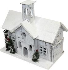 Drewniane domki/wieżyczki zasypane śniegiem występują w kilku wariantach. Różne wymiary i kształty sprawiają, że każdy może dopasować coś dla...