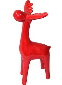 Ceramiczna figurka przedstawiająca łosia. Kształt minimalistyczny, bez żadnych szczegółów. Figurka występuje w różnych kolorach, więc każdy może...