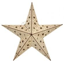 Gwiazda to symbol przede wszystkim związany ze świętami Bożego Narodzenia; dlatego jest to przede wszystkim ozdoba sezonowa. Pięknie udekoruje czubek...