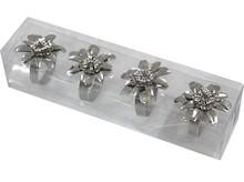 Niebywale efektowne obrączki na serwetki z motywem kwiatów będą wyjątkową dekoracją każdego stołu. Dzięki nim każdy posiłek odbędzie się w...