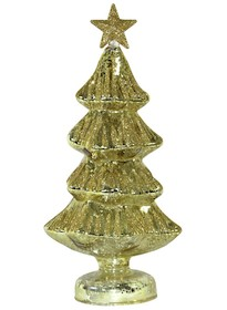 Złote choinkiw różnych wymiarach to przepiękne ozdoby na świąteczny stół czy stroik.Drzewka będą się świetnie prezentować...