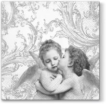 Bardzo urocze serwetki Sweet Angels Silver wyróżniają się gustowną i subtelną stylistyką, która doda wiele uroku każdej aranżacji. Będą świetnym...
