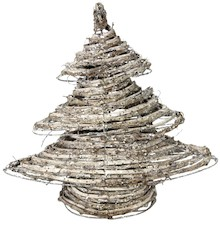 Choinkiw różnych kształtach i wymiarach, wykonane z wikliny to przepiękne ozdoby na świąteczny stół czy stroik.Drzewka będą się...
