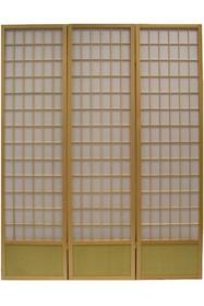 Klasyczny parawan wykonany z drewna to idealne rozwiązanie do sypialni czy pokoju dziennego. Trzysegmentowa konstrukcja pozwala na łatwe ustawienie mebla w...