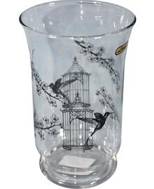Bardzo ciekawie zdobiony, szklany wazon będzie efektownym dodatkiem do każdej aranżacji. Może być znakomitym rozwiązaniem do każdego salonu, sypialni...