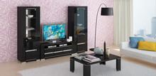 WITRYNA 1- DRZWIOWA ARMONIA BLACK 68x41x185