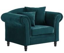GRYF fotel tapicerowany - turkusowy